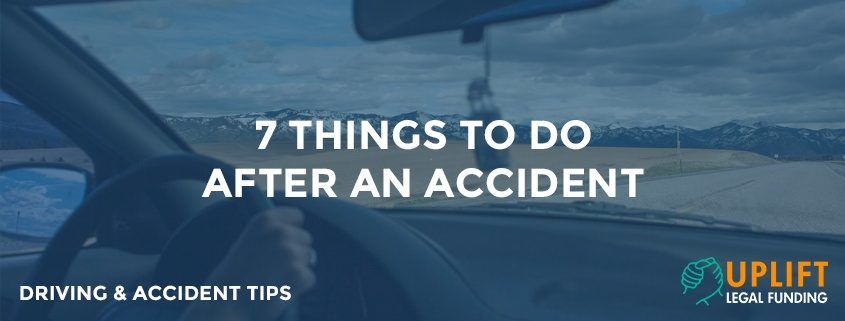 7 helpful tips on what you should do after you have been in an accident