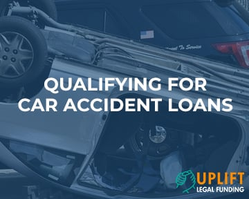 Learn more about what qualifications we require for car accident loans